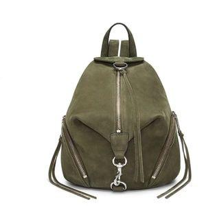 Rebecca Minkoff Medium Leather Julian Backpack NWT
